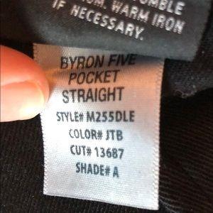 """Hudson Jeans Jeans - Hudson """"Byron"""" 5-Pocket Straight Leg Denim Jean"""